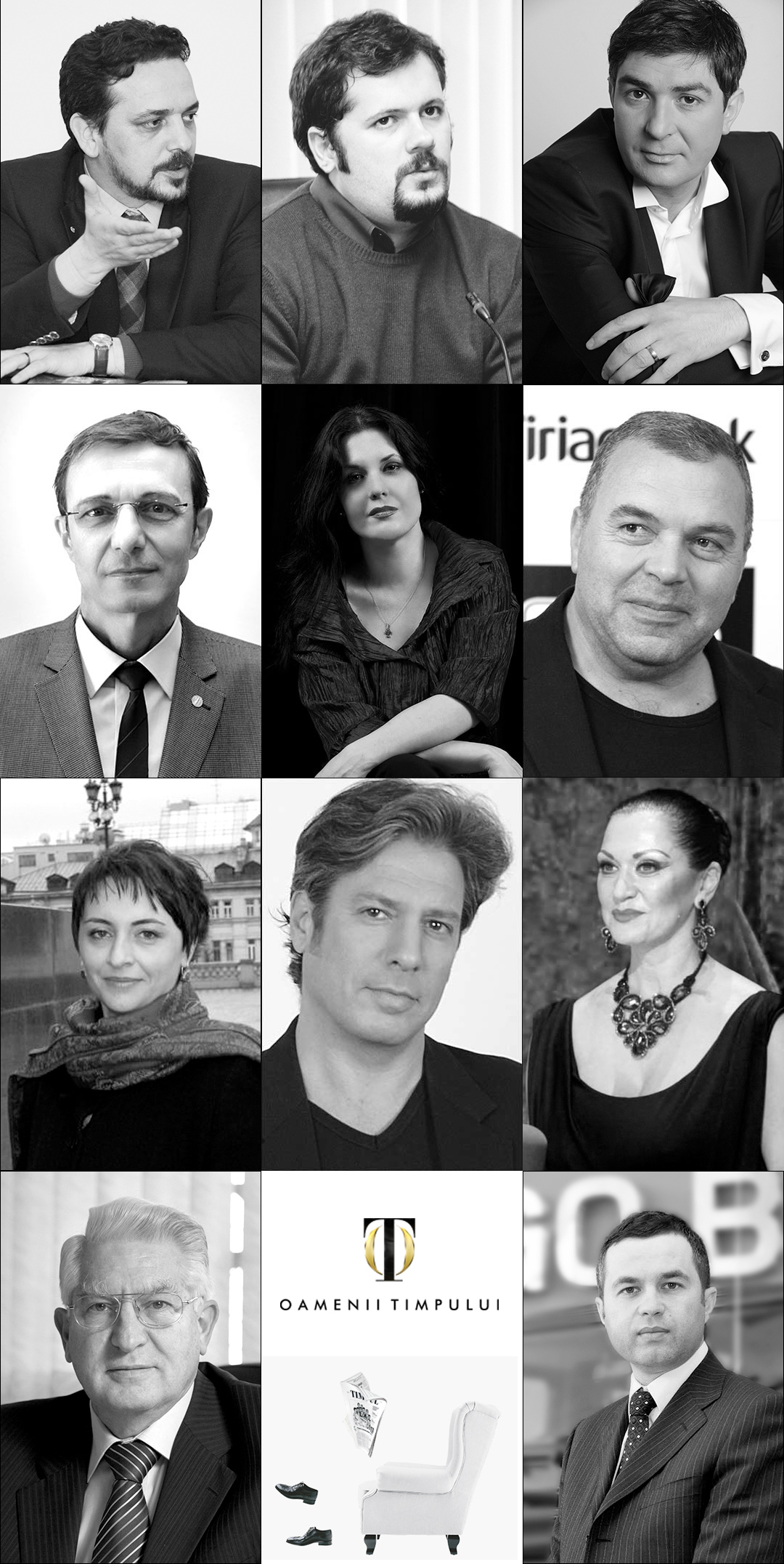 Adriana Nazarciuc, preşedintele Asociaţiei Revistei TIMPUL, Daniel Şandru, preşedinte al juriului